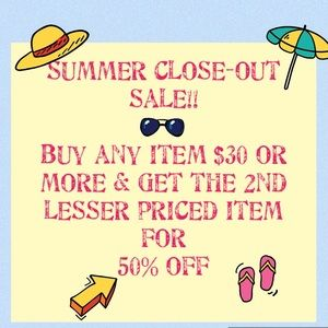 Other - Summer clearance sale